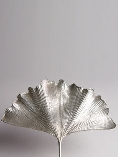 i ginkgo leaves Metal Clay Jewelry, Leaf Jewelry, Jewellery, Bijoux Art Nouveau, Leaf Art, Sculpture, Painting Prints, Art Decor, Gingko Leaf