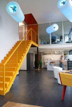D2V2 DARK / design / lighting / color blue / project France #DARK