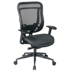Office Star Products Space 818 Series High Back Ergonomic Executive Chair
