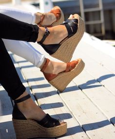 Next Shoes, Women's Shoes, Sam Edelman Espadrilles, Wedge Sandals, Espadrille Wedge, Summer Wedges, Hot Heels, Shoe Closet, Summer Looks