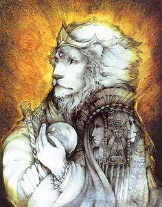 """""""Lion"""" par Susan Seddon Boulet"""
