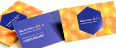 Unique silk business card printed on 16pt cardstock with spot uv gloss on the logo.  Printed by Vermillion Silk: http://vermillionsilkcards.com