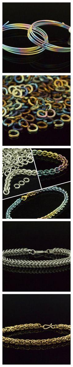 Pure SQUARE Titanium Wire Hypoallergenic 100% by UnkamenSupplies