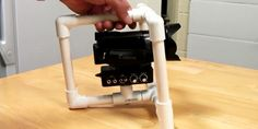 DIY Handheld Camera stabilizer rig from PVC pipe