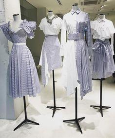 Korean Fashion – How to Dress up Korean Style – Designer Fashion Tips Kpop Fashion Outfits, Ulzzang Fashion, Cute Fashion, Hijab Fashion, Fashion Dresses, Womens Fashion, Korean Fashion Trends, Korea Fashion, Kpop Mode