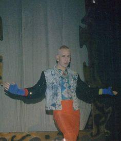 Harrie Wildeman in zijn hoogtijdagen in de Roxy.