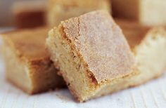 Don't these look Brown Butter Blondies yummy? From, Williams-Sonoma, The Blender Blog