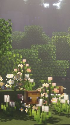 Simple Minecraft Builds, Aesthetic Wallpapers, Dolores Park, River, Building, Outdoor, Art, Outdoors, Art Background