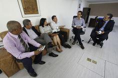 IEADEPE: Pr. Robenildo Lins se reúne  com o Vice-presidente...