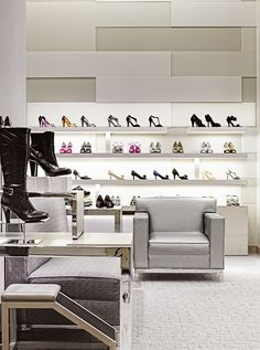 Macys Oakbrook Womens Shoe Department, Oakbrook (A.R.E Awards) store design