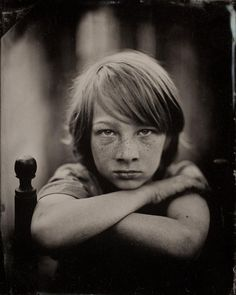 Harry Taylor's wet plate collodion process photography
