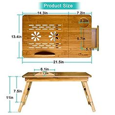 Diy Kids Furniture, Cardboard Furniture, Modular Furniture, Furniture Making, Diy Laptop Stand, Laptop Desk For Bed, Lap Desk, Small Woodworking Projects, Diy Wood Projects