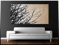 There is something about trees....          Sculpture Ideas | DIY Canvas Art Ideas