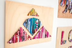 How to Upcycle Old Magazines Into Wall Art | Brit + Co