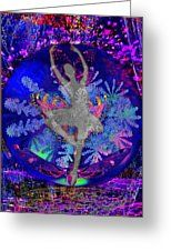 Solar Butterfly Dance Greeting Card by Joseph Mosley