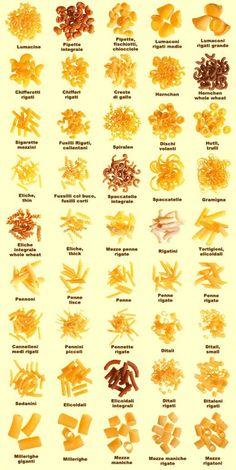 Tipos de pastas