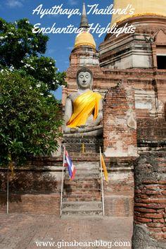 Ayutthaya's Enchanting Highlights http://ginabearsblog.com/2016/02/ayutthayas-enchanting-highlights/