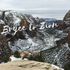 Bryce and Zion National Parks - SO close and SO much beauty!