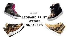 If you are on the hunt for the best leopard print wedge sneakers, then you have come to the right place! You are about to find the most gorgeous and trendy animal print wedges online, we try to provide our readers with quality, fashionable and beautiful collections that will add class and sophistication to your appearance.
