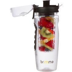 MUST HAVE! #1 Fruit Infuser Water Bottle - Large 32 Oz - Leak Proof - Made of Premium Eastman Tritan Copolyester - Make Your Own Healthy Fruit Infused Flavored Water, Iced Tea, Lemonade, & Juice While on the Go. Great For Weight Loss, Detox, And Healthy Water. By Brimma