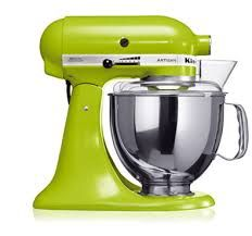 KitchenAid mixer in Pear.