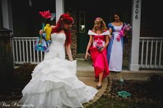 The Ultimate At-Home Disney Wedding: Jaime + Chris | Magical Day Weddings | A Wedding Atlas Fan Site for Disney Weddings