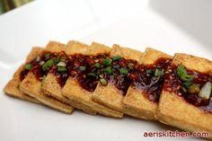 Korean Fried Tofu Side Dish recipe on Food52.com