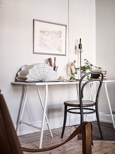 caballetes Ikea mesa de trabajo
