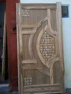Most beautiful entry door design gallery Flush Door Design, Home Door Design, Door Gate Design, Door Design Interior, Interior Doors, Main Entrance Door Design, Wooden Front Door Design, Wooden Front Doors, Entrance Doors