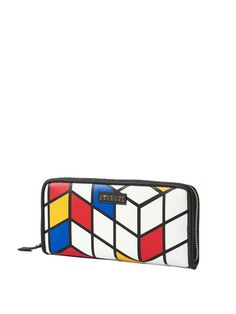 Shop Wallets - Multicolor Statement Small PU Wallet online. Discover unique designers fashion at StyleWe.com.