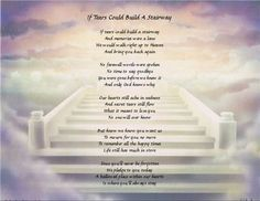 Personalized Stairway To Heaven Poem Print - Personalized Books by Mickey Heaven Poems, Heaven Quotes, Bob Marley, How Far Ill Go, Thank You Quotes, Fathers Day Crafts, Halloween Quotes, Stairway To Heaven, Personalized Books