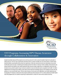 Factsheet: STD Programs: Increasing HPV Disease Awareness through Collaboration & Innovation | The National Coalition of STD Directors