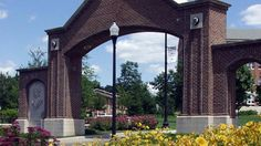 Entrance to University of Dayton in Dayton, Ohio .... If we could only go back... Even just for a day