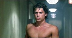 """80sloove: """"Rob Lowe / Youngblood """" Rob Lowe 80s, Rob Lowe Young, Beautiful Boys, Pretty Boys, The Outsiders Sodapop, Matt Dillon, Bae, Actrices Hollywood, Young Actors"""