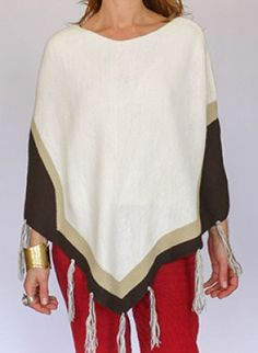 Vintage Poncho @ www.secondhandnew.nl