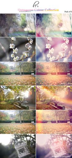[ACTION] Beautiful Outrageous Colours Photoshop Action Pack by Lady-Tori on deviantART