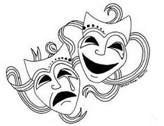 comedy tragedy masks - - Yahoo Image Search Results