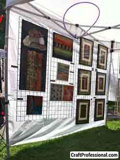 This comprehensive information about portable canopies will help you compare tents and choose the best option for your craft show booth.