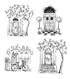 Set of architecture details drawings. Vector illustration Set of architecture details drawings. Vector illustration,çizim – Millions of Creative Stock Photos, Vectors, Videos and Music Files For Your Inspiration and Projects. Pencil Art Drawings, Doodle Drawings, Art Drawings Sketches, Sketch Art, Tattoo Sketches, Tattoo Drawings, Section Drawing Architecture, Architecture Drawing Sketchbooks, Architecture Details
