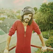 Devendra Banhart in Grey Fur Hat
