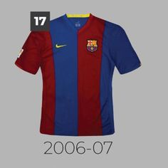 116f9b252cb 20 Years With Nike - Which Is The Best? Barça Home Kit History 1978-