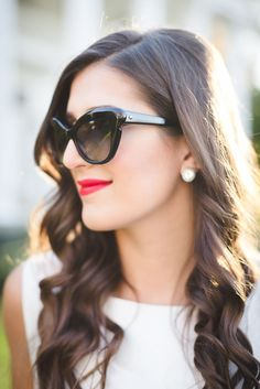 ed053bc723a6  asoutherndrawl in the kate spade new york odelia sunglasses. Kate Spade  Sunglasses
