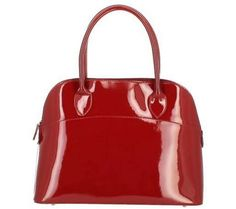 Dupond Durand Sac A Main Rivedroite Rouge Verni