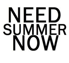 Right now would be nice!