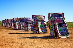 Cadillac Ranch - Amarillo, TX practically every family road trip to California. Route 66 Road Trip, Road Trip Usa, Oh The Places You'll Go, Places To Travel, Places To Visit, Pin Up Girls, Pinup, Utah, Arizona