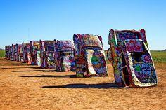 Roadside Attraction.... Cadillac Ranch - Amarillo, TX