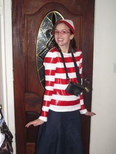 Cute creative halloween costumes creative halloween costumes wheres waldo and wenda costume solutioingenieria Image collections