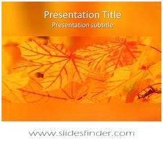 23 best free abstract art powerpoint templates images on pinterest create effective nature abstract ppt presentation with our free nature maple leavesautumn toneelgroepblik Gallery