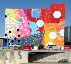 """Alex """"hense"""" Brewer - Il pìù grande murale dell'artista. Lima, Perù"""
