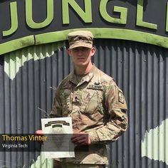 Welcome back to the #ArmyROTC #OML #TopTen . . . we're at Cadet #8! From one of our senior military colleges, Virginia Polytechnic Institute and State University, better know as #VirginiaTech. Col. Lance Oskey, Chief Of Staff at United States Army Cadet Command, brings you Cadet Thomas Vinter! Cadet Vinter is part of the New River Battalion and a civil engineering major. He will branch Infantry — Queen of Battle! #RahVaMil 🎉 | #FollowMe | #LeadershipExcellence Leadership Excellence, Order Of Merit, Rotc, New River, Virginia Tech, Chief Of Staff, United States Army, Civil Engineering, Colleges